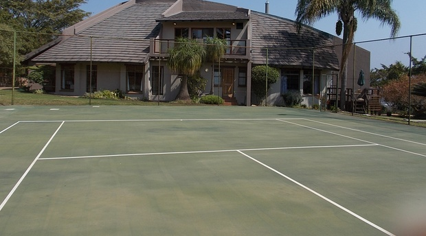 Tennis court, The Rest Zebra Lodge